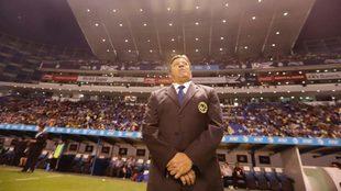 Herrera previo al encuentro entre América y Puebla.