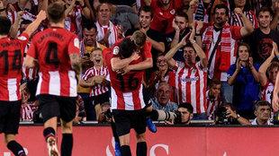 El Athletic está necesitando pocos disparos a puerta para marcar...