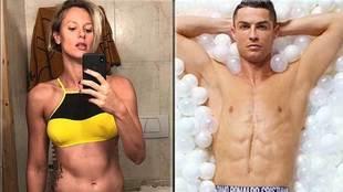 Federica Pellegrini: If Cristiano Ronaldo invited me to dinner I would...