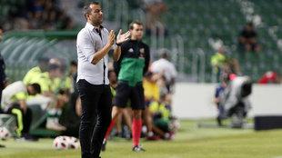 El Deportivo inspira respeto para Diego Martínez, entrenador del...
