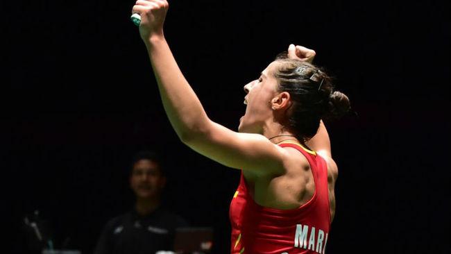 Carolina Marín rompe su techo en el Abierto de China y alcanza la final