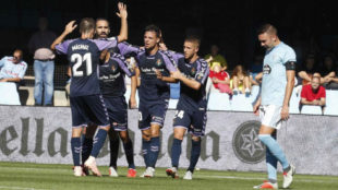 Real Valladolid rescued a point in the 95th minute