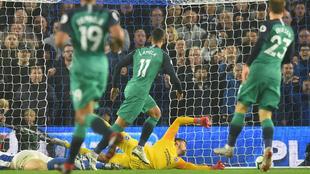 Lamela ha marcado el segundo gol para el Tottenham