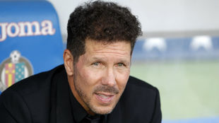 Atletico Madrid manager, Diego Simeone