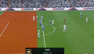 Marco Asensio's goal wasn't offside