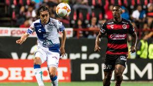 Partido entre Xolos y Pachuca en el Estadio Caliente