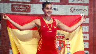 Carolina Marín se hace un hueco en la historia al ganar en China