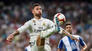 Ramos, ante el Espanyol