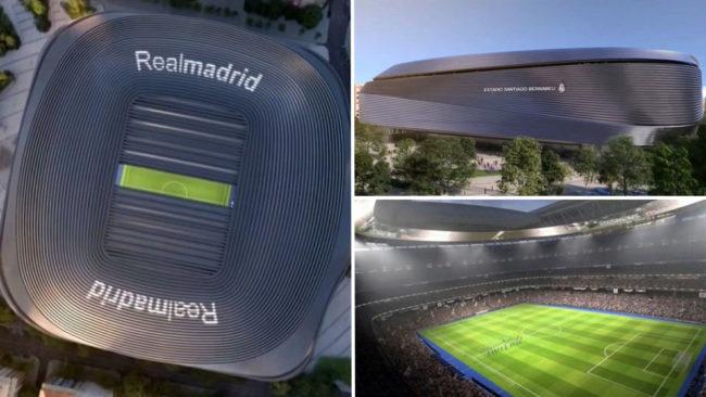 Así será el nuevo Santiago Bernabéu, según Florentino