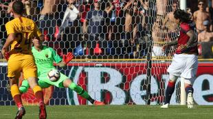 Santander remata y pone el 2-0 en el marcador