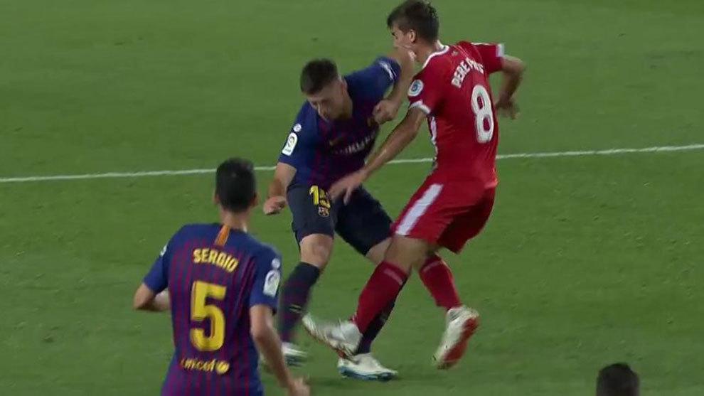 Sau vòng 5 La Liga: Lenglet bị đuổi oan?