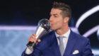 Cristiano, el año pasado en la gala The Best