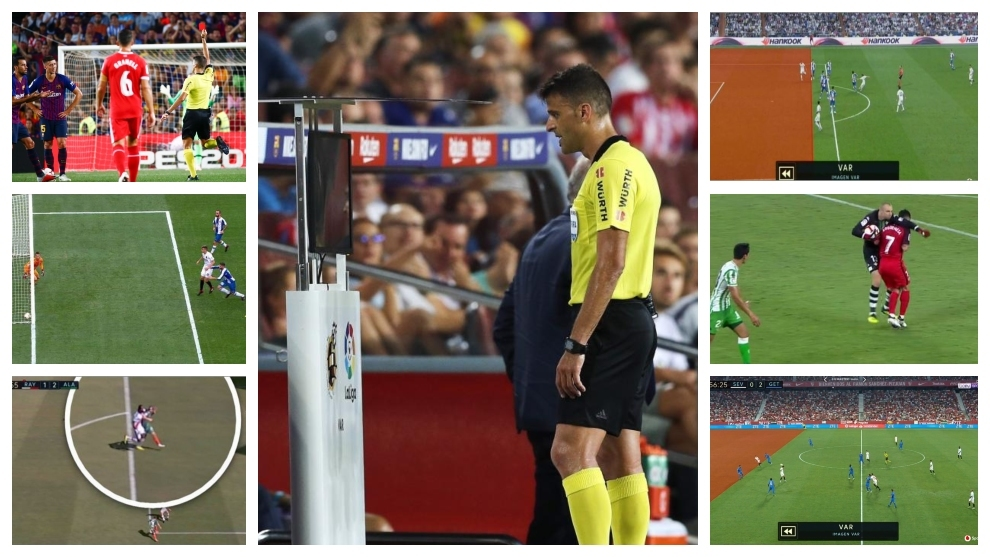 Eleven VAR decisions that have sparked controversy in LaLiga Santander