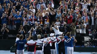 El equipo francés, ante su afición