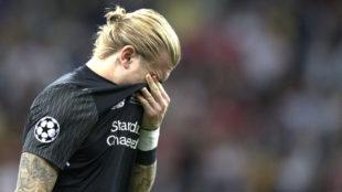 Loris Karius fue triste protagonista en la última final de Champions.