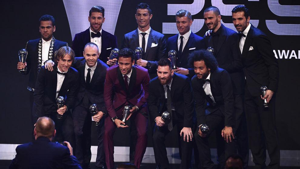 The Best FIFA 2018: La Gala de los premios The Best, en