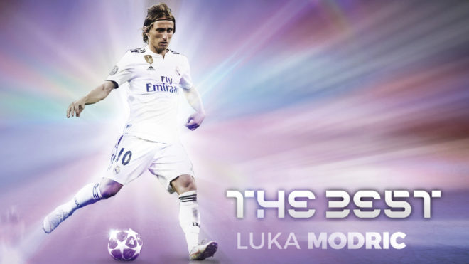 Real Madrid and Croatia midfielder Luka Modric