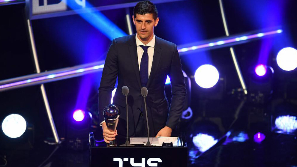 Real Madrid and Belgium goalkeeper Thibaut Courtois.