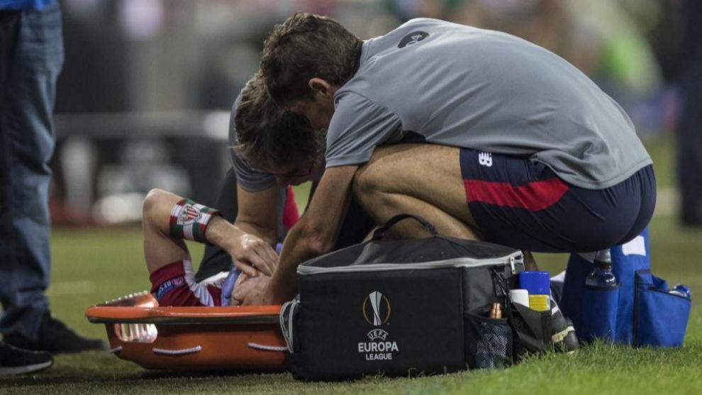 La lesión del cruzado es muy temida por su larga recuperación y...