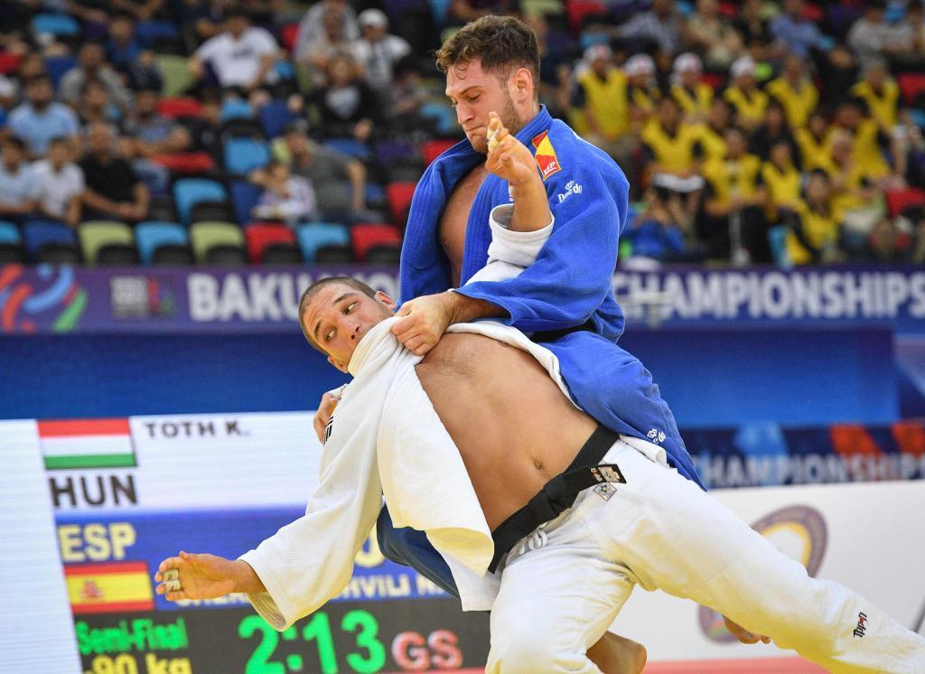 Nikoloz Sherazadishvili es el último gran fichaje del deporte...