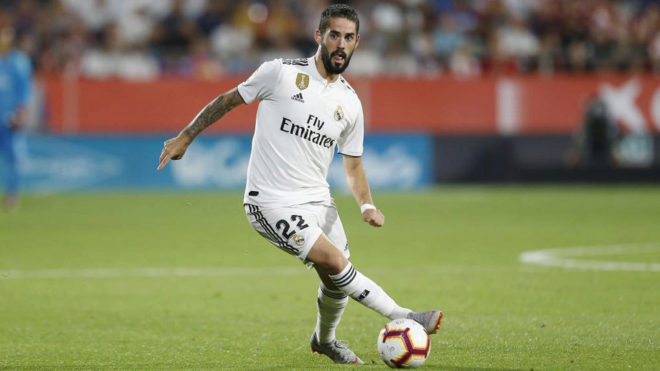 Isco, in a match this season.