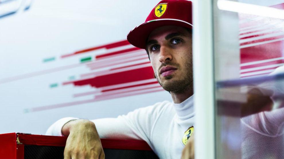 Giovinazzi, que era hasta ahora probador de Ferrari.