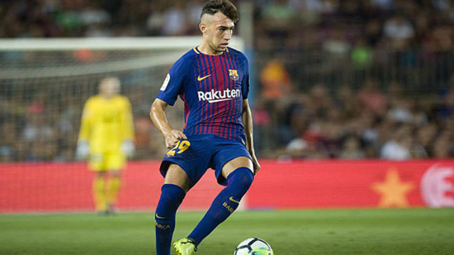 FC Barcelona forward Munir El Haddadi