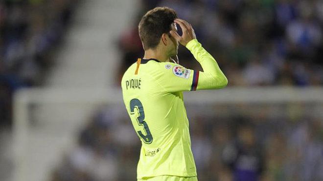 FC Barcelona's defender Gerard Pique