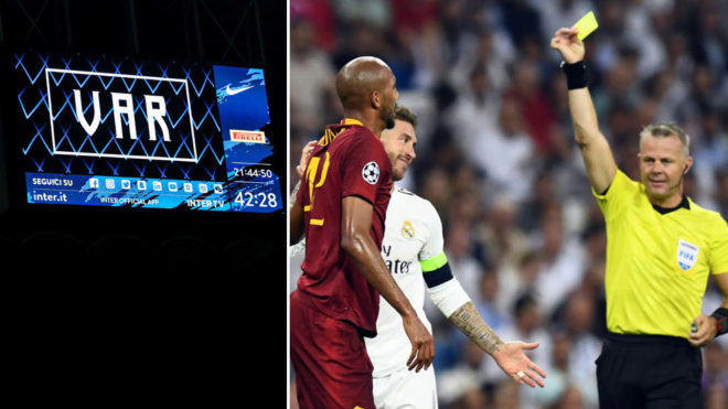 The Champions League will have VAR from 2019/20