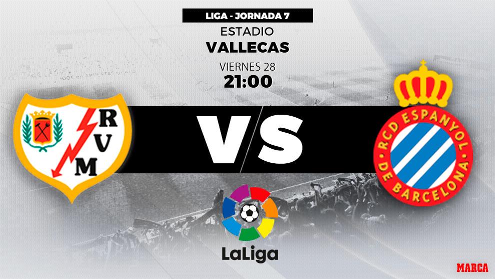 LaLiga Santander: Rayo vs Espanyol: Horario y dónde ver el ...