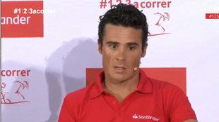 Javier Gómez Noya, en el Consejo Superior de Deportes.
