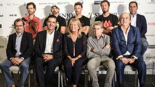 Presentación de la Senior Masters Cup de Marbella