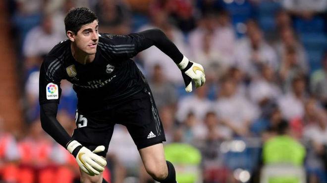 f62262d73 LaLiga Santander - Real Madrid vs Atletico Madrid  Courtois