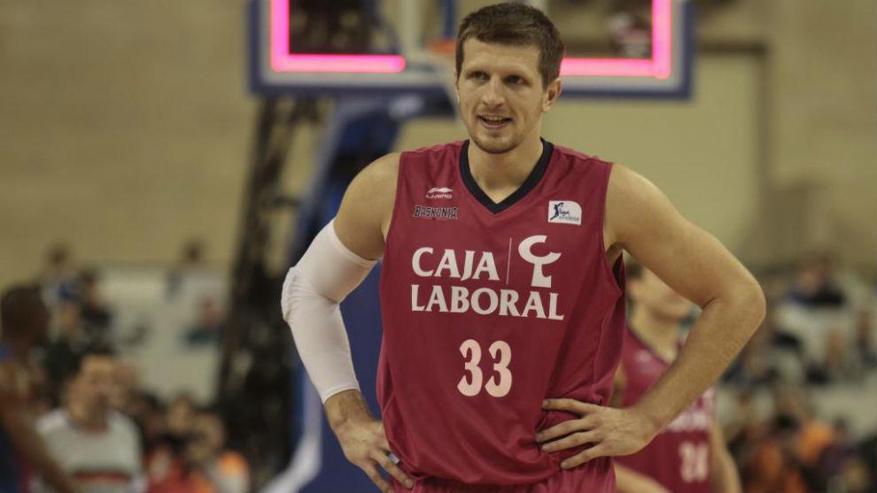 Mirza Teletovic jugó 239 partidos de Liga Endesa con el Baskonia