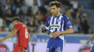 Ibai Gómez lamenta el fallo desde los 11 metros