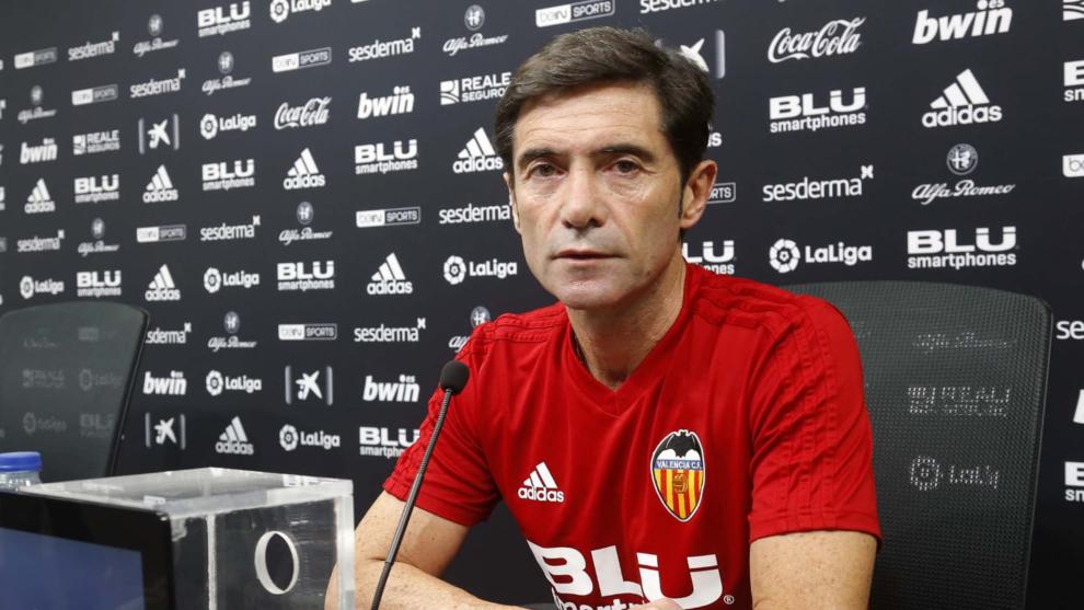 """Valencia CF: Marcelino: """"Nos van a decir 'empatas más que el ..."""