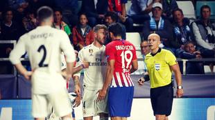 El derbi entre el Real Madrid y el Atlético de Madrid siempre viene...