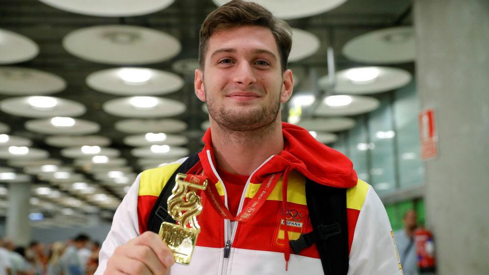 Niko Sherazadishvili, a su llegada a Madrid