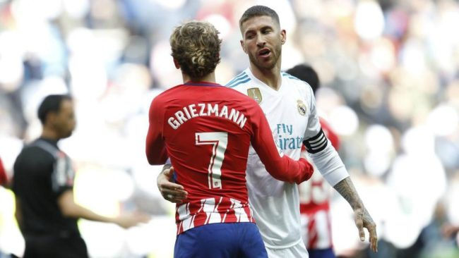 Sparks will fly between Ramos and Griezmann
