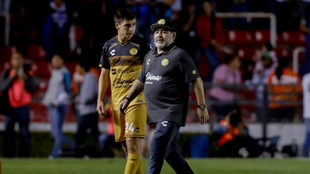 Maradona regresa al Estadio Banorte, donde cosechó su primera...