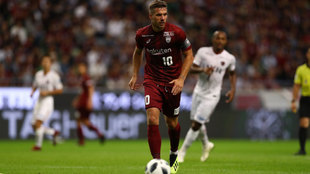 Podolski, durante el encuentro