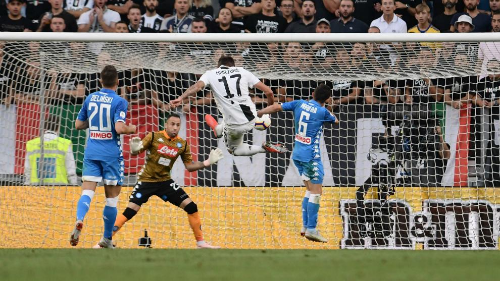 Serie A: La Juve remonta al Nápoles en un brillante partido de ...