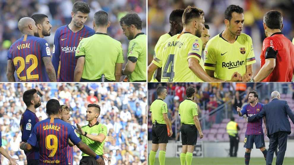 Referees are punishing Barcelona for dissent