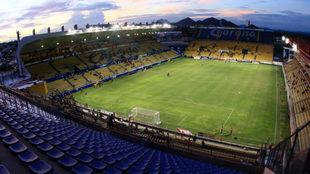 El Estadio Caliente se encuentra listo para recibir el encuentro.