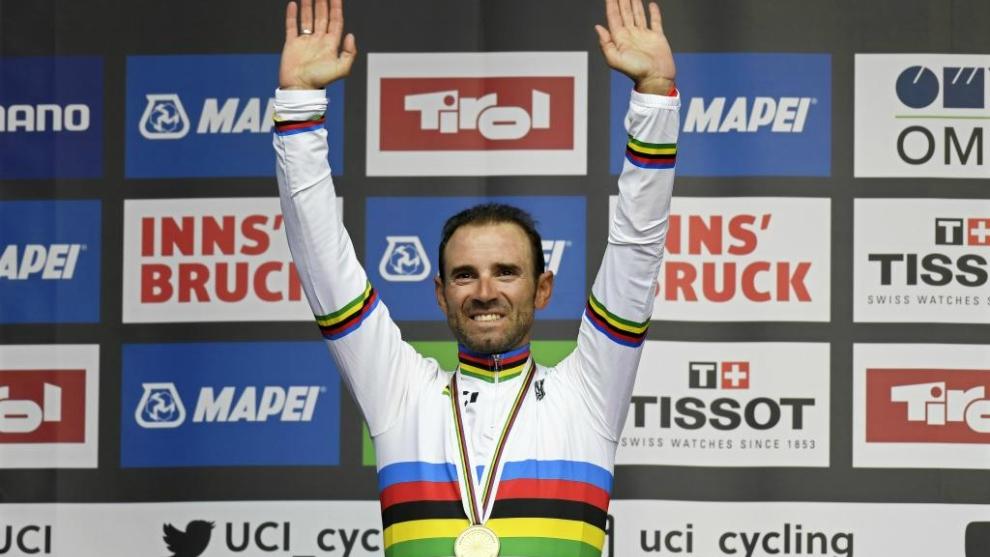 Alejandro Valverde, nuevo Campeón del Mundo.