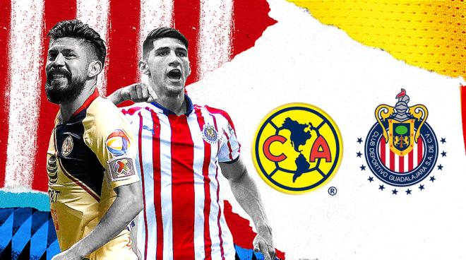 b6980ef3498 Liga MX  América vs Chivas 2018  resumen
