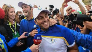 Francesco Molinari, la gran figura de la Ryder Cup 2018.