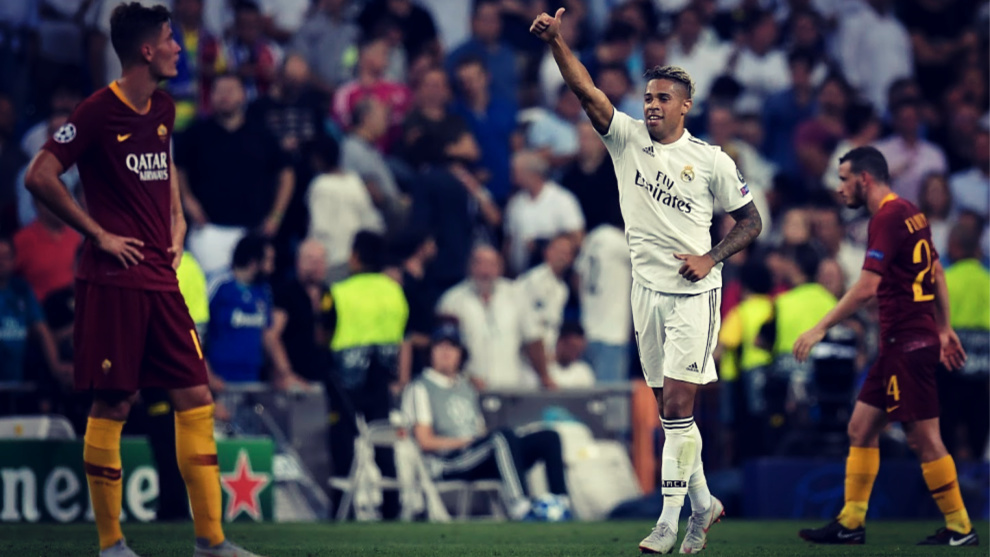 Mariano Díaz ya sabe lo que es marca en esta edición de la Champions...