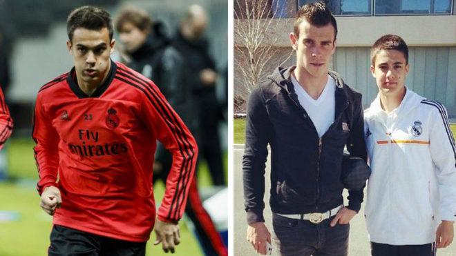 Reguilón, en Moscú y en 2014 con Bale.