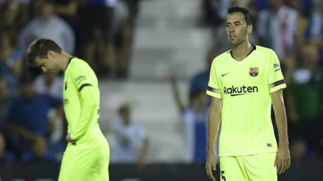 Pique and Busquets are two of Barcelona's undisputed starters